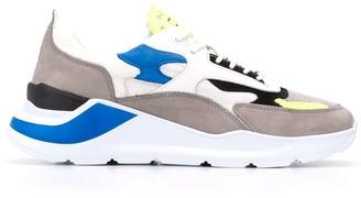 D.A.T.E Colour Block Low-Top Sneakers