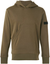Halo half pocket hoodie - men - Cotton/Polyester - S