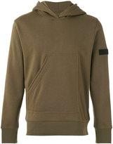 Halo half pocket hoodie - men - Polyester/Cotton - S