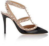 Valentino Women's Rockstud Caged Pumps-Black