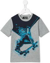DSQUARED2 skater print T-shirt - kids - Cotton - 4 yrs