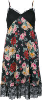 Twin-Set floral print flared dress - women - Polyamide/Polyester/Viscose - 38
