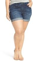 Melissa McCarthy Plus Size Women's Girlfriend Fit Denim Shorts