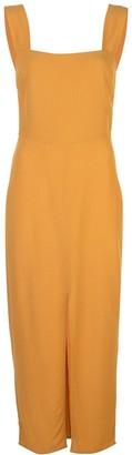 Reformation Front Slit Midi Dress