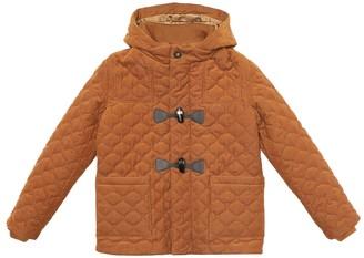 Loro Piana Kids Peter stretch-corduroy coat