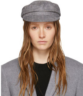 Isabel Marant Grey Check Evie Cap