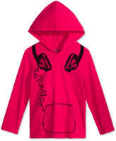 Epic Threads Headphones Hooded Shirt, Little Boys, Created for Macy's