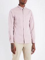 Officine Generale Slim-fit cotton shirt