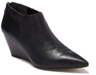 Franco Sarto Adrienne Pointed Toe Leather Bootie
