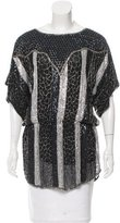 Parker Silk Sequined Tunic