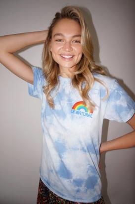 Le Natural UO Exclusive Rainbow Tie-Dye Tee