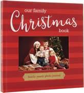 Pearhead Pear Head Our Family Christmas Keepsake, Holiday Photo Memory Journal