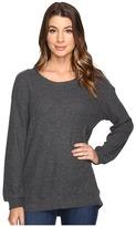 Michael Stars Super Soft Madison Rib Oversized Sweatshirt