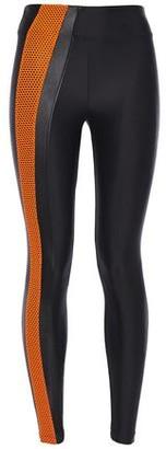 Koral Teazer High Rise Energy Mesh-trimmed Stretch Leggings