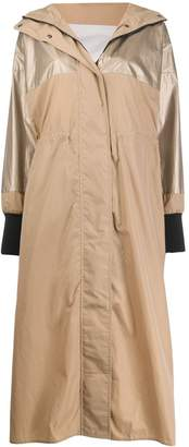 Moncler single-breasted raincoat