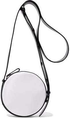 Diane von Furstenberg Two-tone Leather Shoulder Bag