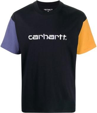 Carhartt Wip short-sleeved block colour T-shirt