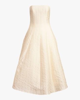 Ralph Lauren Collection Fern Sleeveless Evening Dress