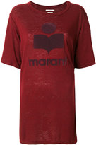 Etoile Isabel Marant Étoile Kuta logo T-shirt - women - Linen/Flax - S