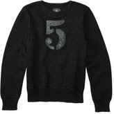 Ralph Lauren Indigo Cotton Crewneck Sweater