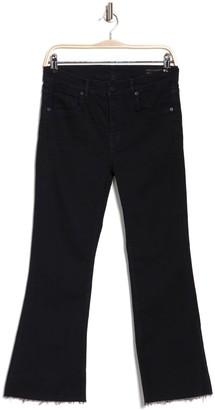 AllSaints Heidi Raw Crop Flared Leg Jeans