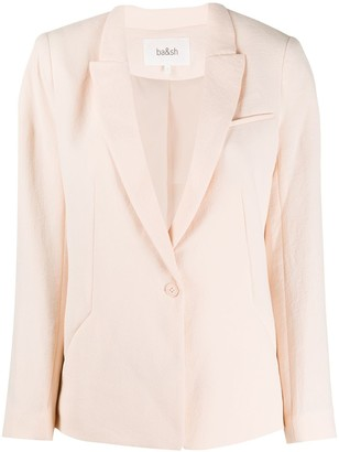 BA&SH Poni single-breasted blazer