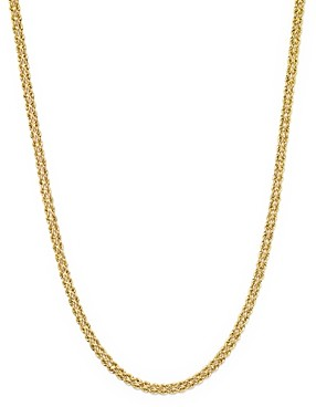 Bloomingdale's 14K Yellow Gold Double Row Light Rope Necklace, 18 - 100% Exclusive