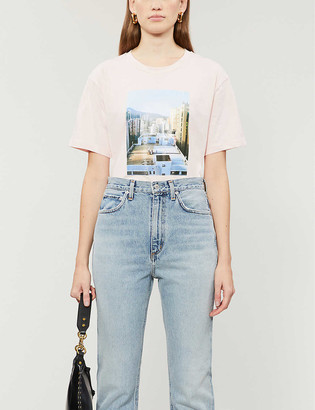Claudie Pierlot Terriblo cotton-jersey T-shirt