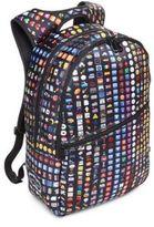 Terez Emoji Printed Backpack