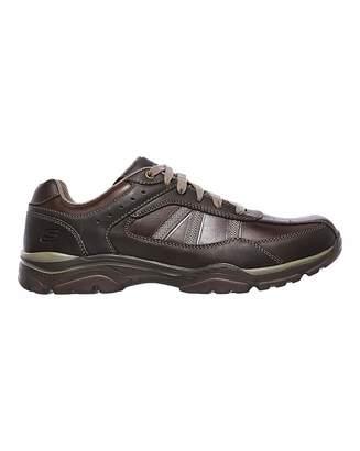 Skechers Rovato Texon Wide Fit Shoe