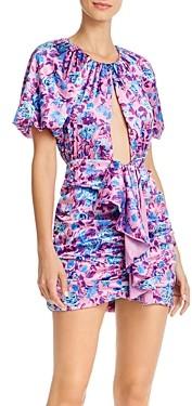For Love & Lemons Tahiti Cutout Mini Dress