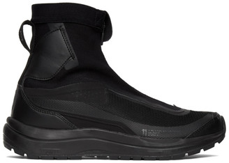11 By Boris Bidjan Saberi Black Salomon Edition Bamba2 High-Top Sneakers