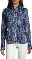 Robert Graham Priscilla Paisley Floral Button-Down Shirt