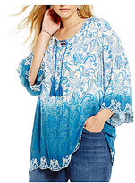 Westbound Plus Bell Sleeve Tunic