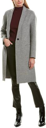 Vince Modern Wool-Blend Coat