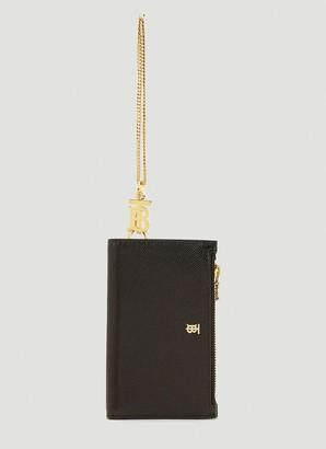 Burberry Monogram Motif Chain Wallet