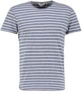 Solid Haynes Print Tshirt Blue