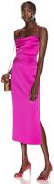 Rasario Midi Slip Dress in Pink | FWRD