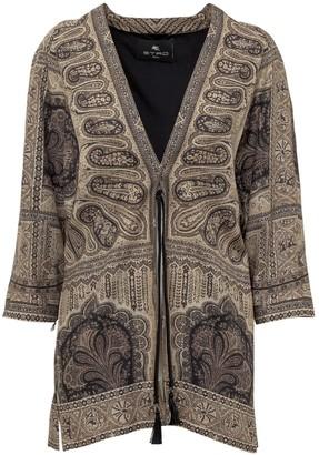 Etro Paisley Printed Coat