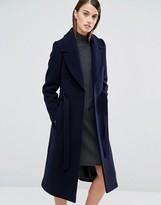 Whistles Evangeline Belted Longline Coat
