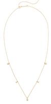 Zoe Chicco 14k Gold Opal Gemstones Short Station Necklace