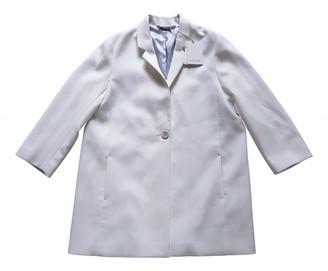 Jigsaw Ecru Polyester Coats