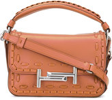 Tod's mini 'Double T' tote - women - Calf Leather - One Size