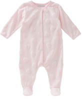 Absorba Pink Hearts Footie - Infant