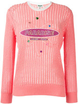 Kenzo Paradise jumper - women - Cotton/Viscose/Polyester - XS