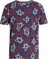 Gucci GucciGhost-print crew-neck T-shirt