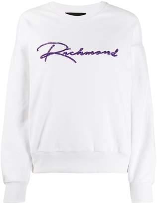 John Richmond Gee logo sweatshirt