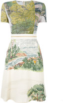 Stella McCartney landscape print dress - women - Polyamide/Polyester/Viscose/Latex - 40
