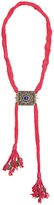 Etro Tassel-embellished engraved necklace