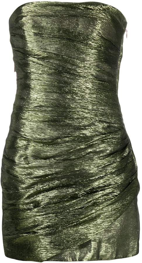 DSQUARED2 metallic bustier dress